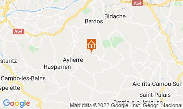 Mapa Biarritz Chalet 69281