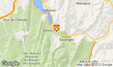Mapa Annecy Casa rural 101918