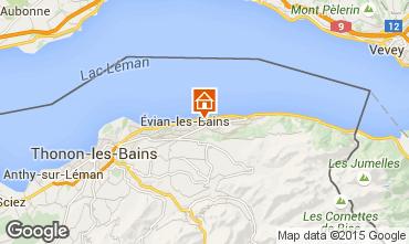 Mapa Evian les Bains Casa rural 14092