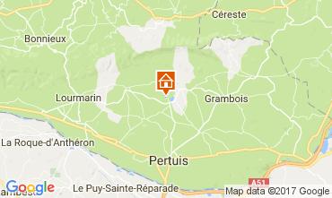 Mapa Lourmarin Villa 108812