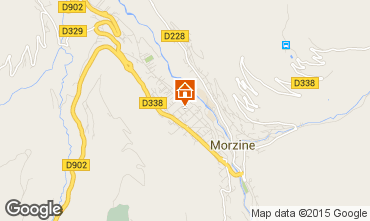 Mapa Morzine Apartamento 28154