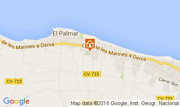 Mapa Denia Villa 103619
