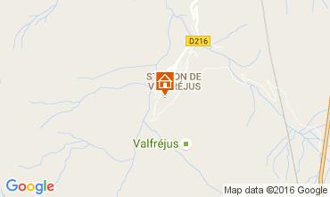 Mapa Valfréjus Estudio 107072