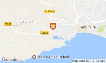 Mapa Albufeira Apartamento 109950