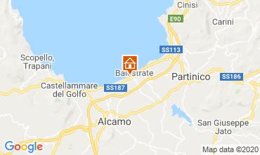 Mapa Balestrate Apartamento 64643