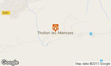 Mapa Thollon Les M�mises Apartamento 101411