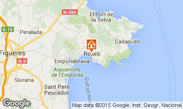 Mapa Rosas Apartamento 75220