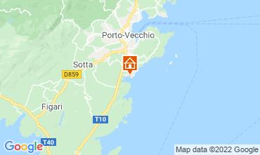 Mapa Porto Vecchio Villa 40852