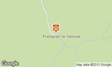 Mapa Pralognan la Vanoise Apartamento 48499