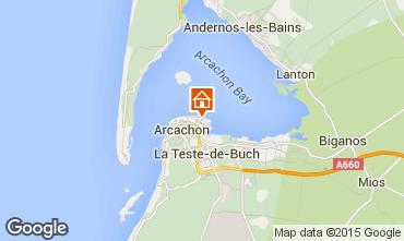 Mapa Arcachon Apartamento 21709