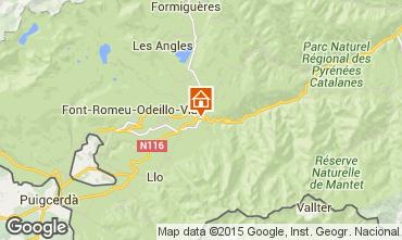 Mapa Font Romeu Casa 66773