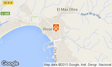 Mapa Rosas Apartamento 86249