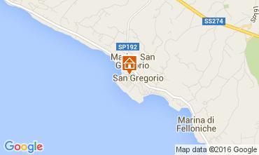 Mapa Santa Maria di Leuca Casa 104045