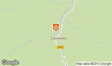 Mapa Cauterets Apartamento 4059