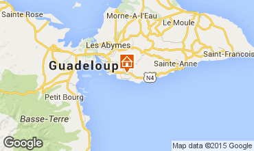 Mapa Gosier (Guadalupe) Bungalow 8003