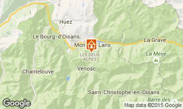 Mapa Les 2 Alpes Estudio 100739