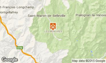 Mapa Les Menuires Apartamento 91426