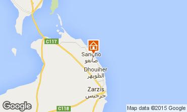 Mapa Djerba Villa 51947