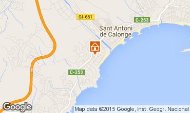 Mapa Sant Antoni de Calonge Casa 63686