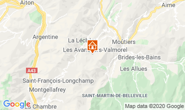 Mapa Valmorel Apartamento 49915