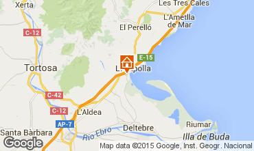 Mapa La Ampolla Villa 101811