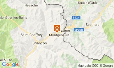 Mapa Montgenevre Estudio 98347
