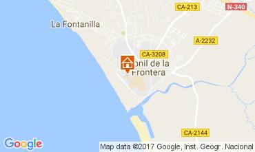 Mapa Conil de la Frontera Apartamento 104289