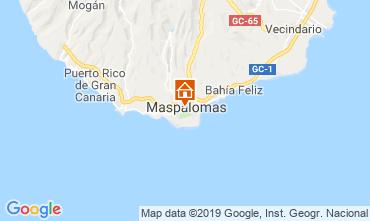 Mapa Maspalomas Apartamento 104988