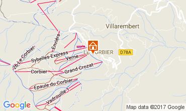 Mapa Le Corbier Estudio 107286
