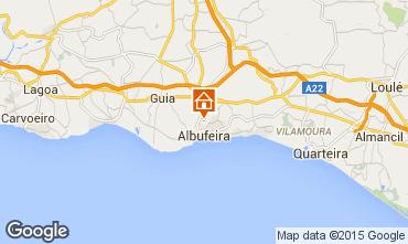 Mapa Albufeira Villa 45016