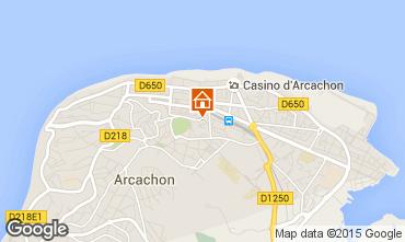 Mapa Arcachon Apartamento 60086