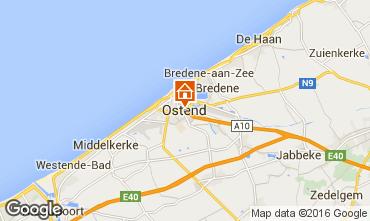 Mapa Ostende Apartamento 75999
