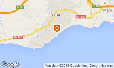 Mapa Nerja Apartamento 89687