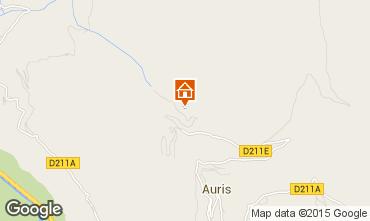 Mapa Auris en Oisans Apartamento 63354