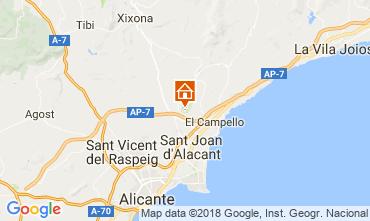 Mapa Alicante Apartamento 109179