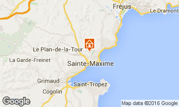 Mapa Sainte Maxime Villa 103264