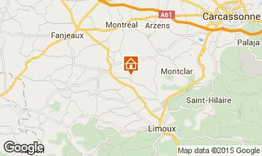 Mapa Carcassonne Casa rural 13005