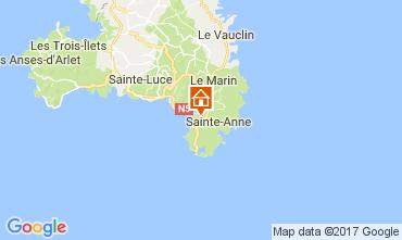 Mapa Sainte Anne (Martinique) Estudio 61497