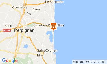 Mapa Canet Apartamento 107887