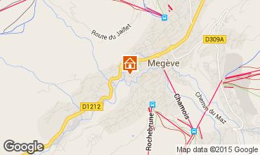 Mapa Megève Apartamento 21360