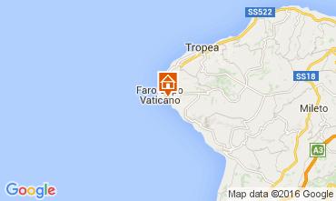 Mapa Capo Vaticano Apartamento 103567