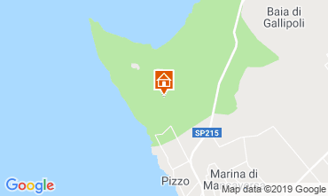 Mapa Gallipoli Villa 118004