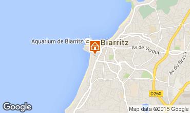 Mapa Biarritz Apartamento 15275