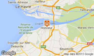 Mapa Honfleur Estudio 77332