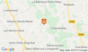 Mapa Marvejols Casa rural 11874