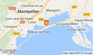 Mapa Carnon Plage Estudio 114489