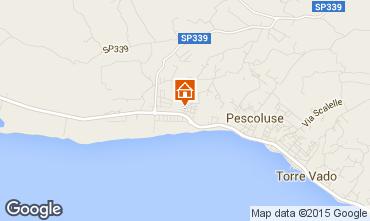 Mapa Pescoluse Apartamento 86954