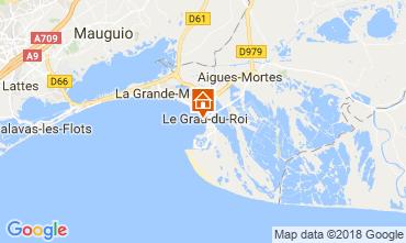 Mapa Le Grau du Roi Apartamento 108003