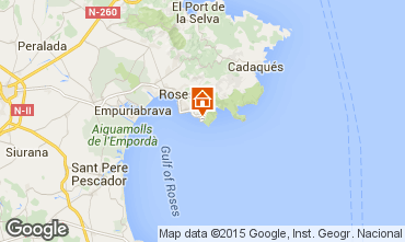 Mapa Rosas Apartamento 72870