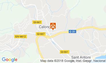 Mapa Calonge Villa 54458